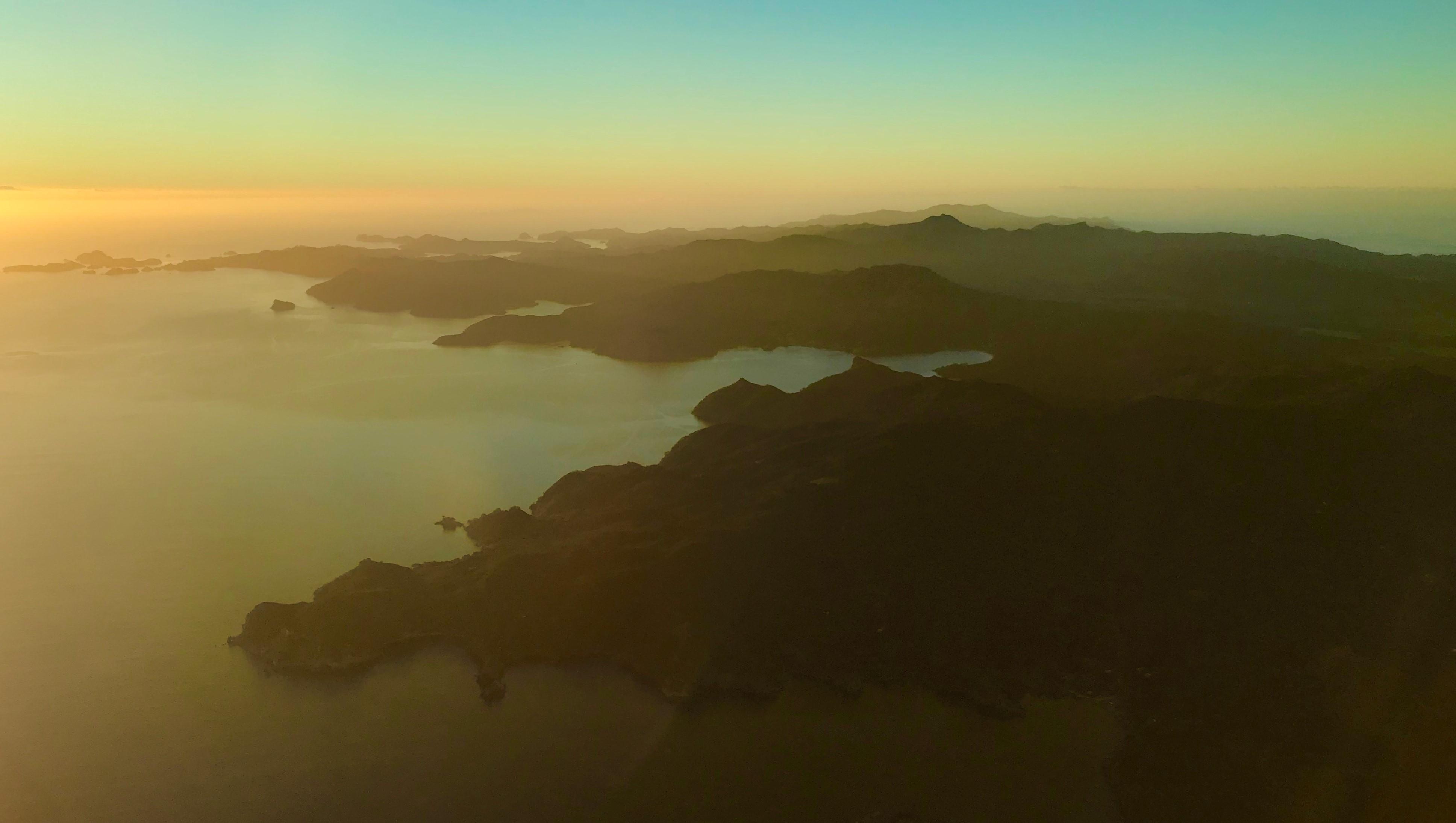 Great Barrier at dusk